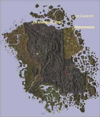 [Ahemmusa Main Quest Map Locations, 321x375 (29 kb)]