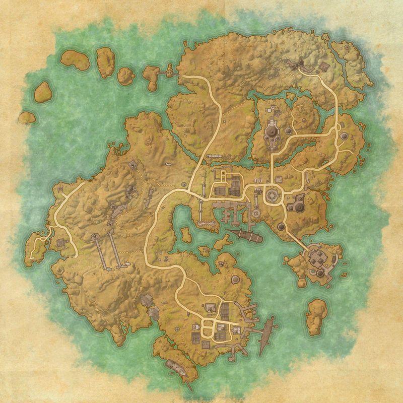 A map of Stros M'Kai